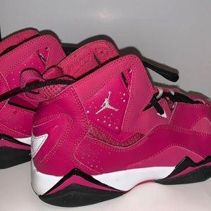 Jordan true flight vivid pink !!